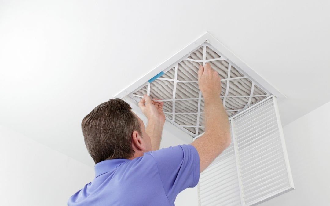 changing HVAC filters is great for improving indoor air quality